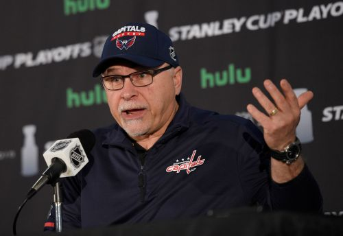 No contract, no problem: Trotz guides Caps into Cup final