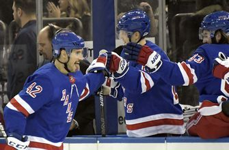 Rangers beat Panthers 4-2 for 5th straight home win