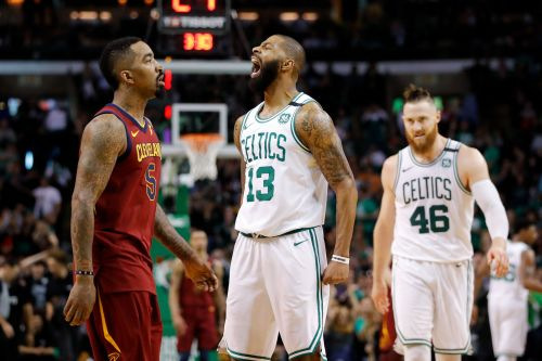 Tempers flare in Cavs vs. Celtics as Marcus Morris, Larry Nance Jr., and Terry Rozier get techs