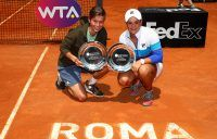Barty rises to world No.5 with Rome doubles title