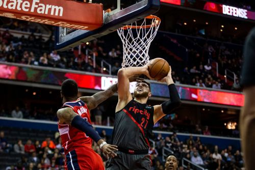 Lillard scores 40, leads Trail Blazers past Wizards 119-109