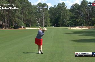 Trish Johnson's 66 in Two Minutes