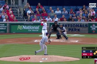 WATCH: Nationals crush four home runs in 10-2 victory