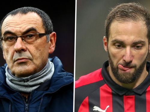 Chelsea closing in on Higuain as agreement reached with Juventus