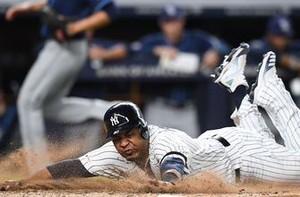 Voit and Gregorius help Yankees extend AL East lead with 5-1 win over Rays