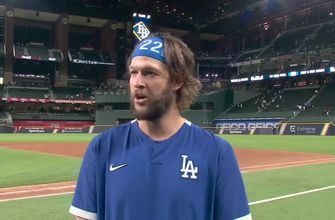 Clayton Kershaw on stellar Game 1 performance: 'I'm just thankful to get another opportunity'