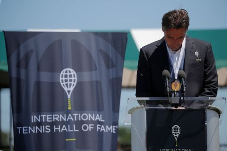 Stich, Sukova inducted into tennis Hall of Fame