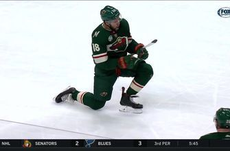 WATCH: Wild's Greenway, Parise score on Hockey Day Minnesota 2019