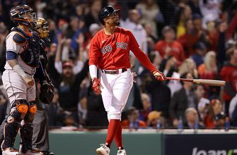 Xander Bogaerts launches a two-run homer to put Red Sox ahead, 2-1