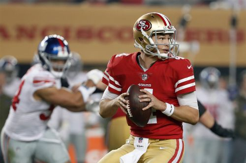 Giants will likely face 49ers backup after Jimmy Garoppolo injury