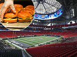 NFL put finishing touches to Super Bowl 2019 venue Mercedes Benz Stadium in Atlanta