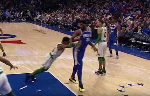 76ers' Joel Embiid Responds to Marcus Smart Saying He 'Flails' for Fouls