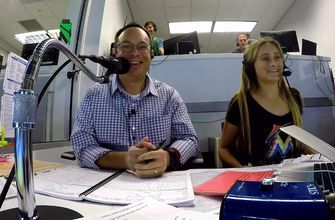 Kid reporter Josephine learns what it takes to call a Marlins game