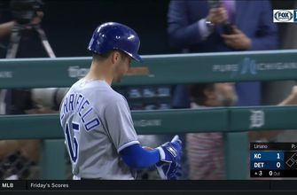 WATCH: Merrifield becomes first Royal ever to have four hitting streaks of 12+ games in a season