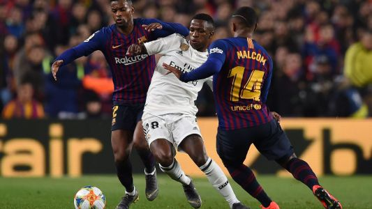 Real Madrid's Vinicius Jr. playing well beyond his years - Santiago Solari