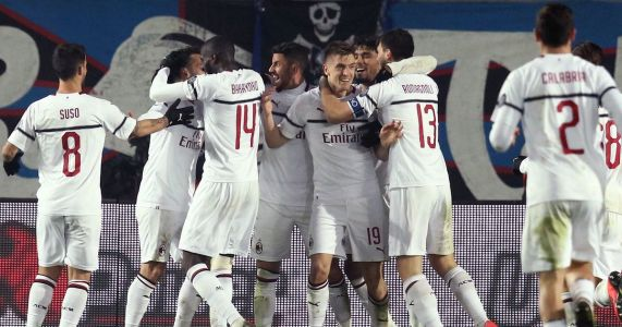 Piatek scores 2 as Milan beats Atalanta 3-1 in Serie A