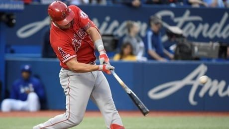 Game Wrap: Trout's grand slam powers Angels past Blue Jays
