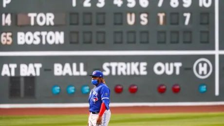 Slumping Blue Jays stumble out of the gate in series opener against Red Sox