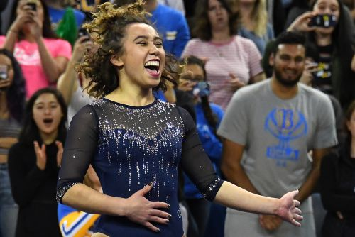 UCLA gymnast Katelyn Ohashi rocks internet with another perfect 10 routine