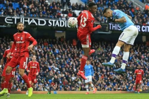 Man City cruise past 10-man Fulham in FA Cup
