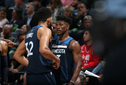 Derrick Rose Helped KAT Deal with Jimmy Butler