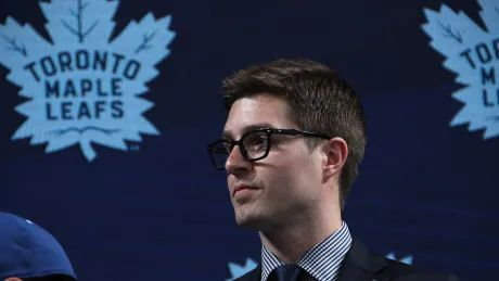 Maple Leafs select forward Matthew Knies 57th overall in 2021 Draft