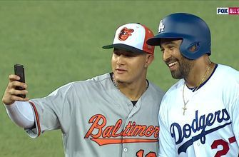 Matt Kemp talks about friendship with Manny Machado during the MLB All-Star Game
