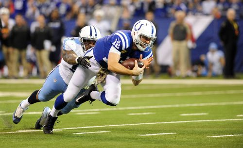 Colts quarterback Andrew Luck is 9-0 against the Titans. Will the streak end Sunday?