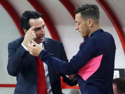 Emery likes causing 'friction' with his players after decision to drop Ozil