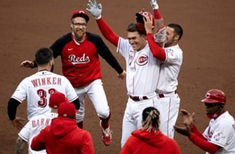 Tyler Stephenson hits walk-off pinch-hit single in the 10th to give Reds a 3-2 win over Indians