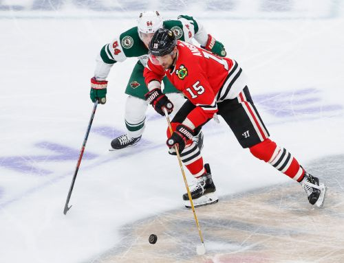 Wild can't overcome two-goal first period by Blackhawks