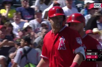 HIGHLIGHTS: Mike Trout homers as Angels win in wild fashion