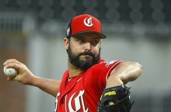 Roark roughed up in final spring tuneup for Reds