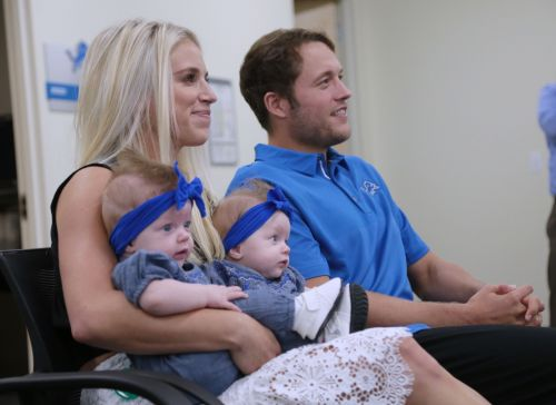 How football helped Detroit Lions QB Matthew Stafford cope with wife's health scare