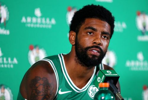 Kyrie Irving Wants His Jersey Retired in Boston