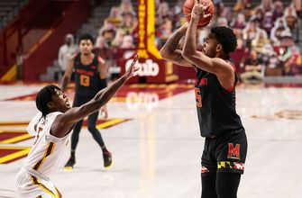 Maryland stuns No. 17 Minnesota behind Eric Ayala's team-high 21 points