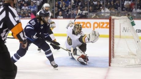 Jets subdue Golden Knights to extend unbeaten streak to 6 games