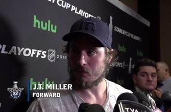 J.T. Miller expects Lightning to have another good start in Game 4