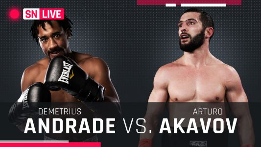 Demetrius Andrade vs. Artur Akavov results, live updates and round-by-round scoring