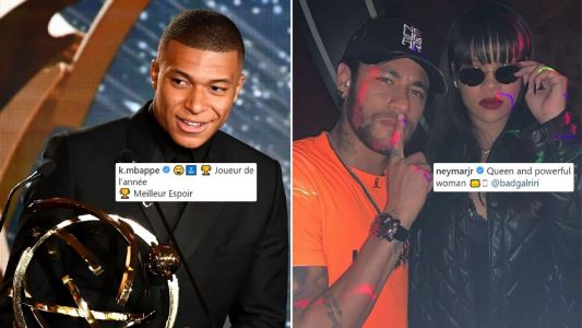 Neymar skips PSG teammate Mbappe's award wins; spends evening with Rihanna