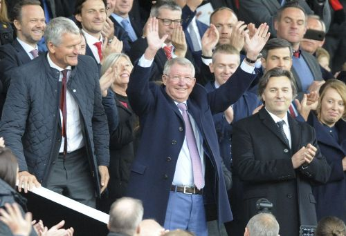 Emotional return to Old Trafford for Alex Ferguson