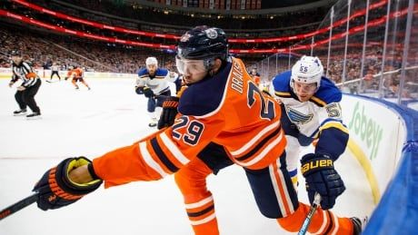 Oilers forward Draisaitl voted in all-star game, Leafs' Rielly left off