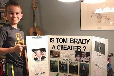 Science project proving Tom Brady cheated backfires on 11-year-old Bucs fan