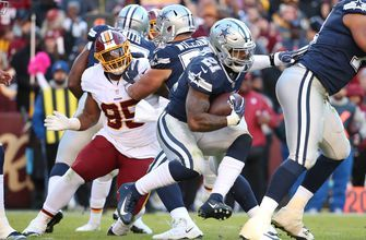 Cowboys RB Elliott has 2nd-worst rushing game of his career
