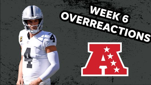 AFC Week 6 overreactions: Raiders show resiliency in win after chaotic week