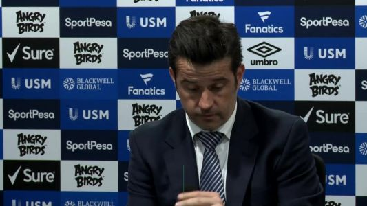 Everton were the best team on the pitch from the first minute - Silva