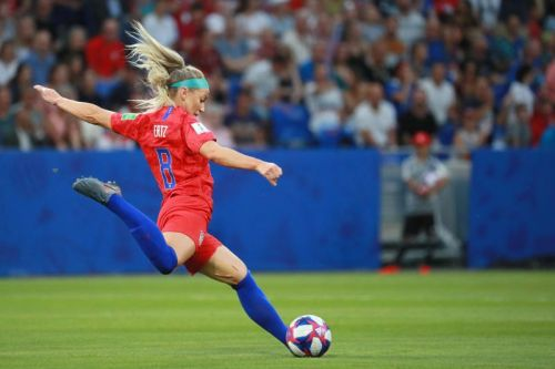 Julie Ertz edges Megan Rapinoe for U.S. Soccer female Athlete of the Year