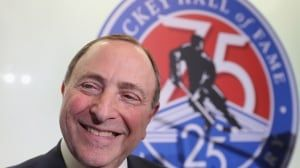 Stern never doubted NHL's hire of commissioner Bettman