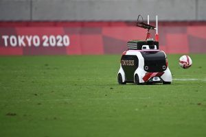 Remote control bus unexpected hit of the Olympic Sevens