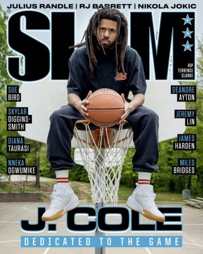 J. Cole SLAM 232 and Exclusive Cover Tees Available Now!